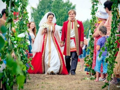 Свадьба в русском стиле: этнические особенности и славянские традиции